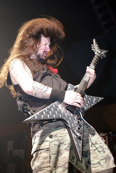 Dimebag Darrell Abbott MTV2 Headbangers Ball Tour In New York
