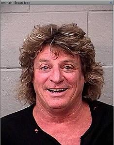 Mick Brown mugshot