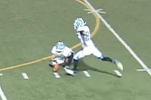 Austin Rehkow Kicks a 67-yard Field Goal for Central Valley High School in Spokane, Washington