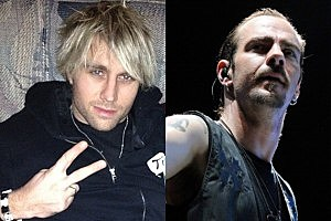Matt Walst and Adam Gontier