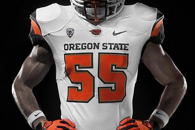 New Oregon State University Nike Football Jerseys
