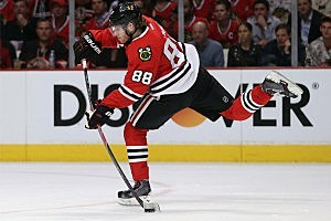 Patrick Kane #88 of the Chicago Blackhawks