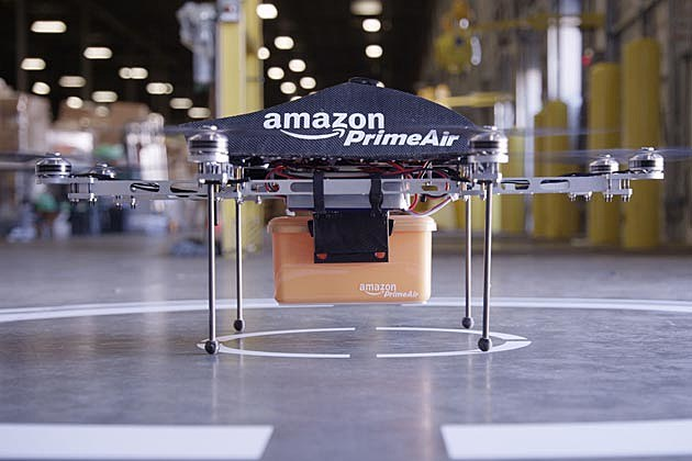 Amazon Prime Air - Octocopter Drone