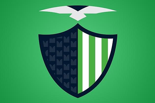 Seattle Seahawks Italian Badge