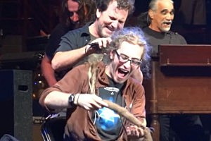 Pearl Jam Cuts a Fans Dreadlocks on Stage in Spokane