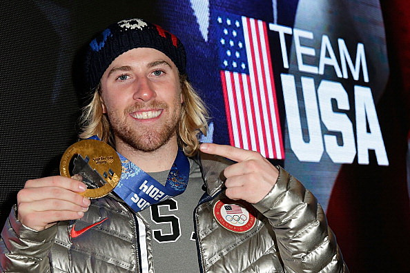 U.S. Olympian and gold medalist Sage Kotsenburg