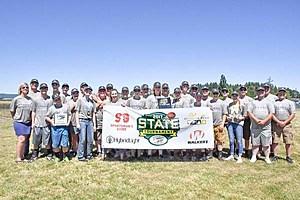Courtesy Erin Wallace - Hermiston High Trap Shooters State Champs