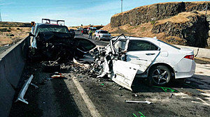 WSP Franklin County Wreck