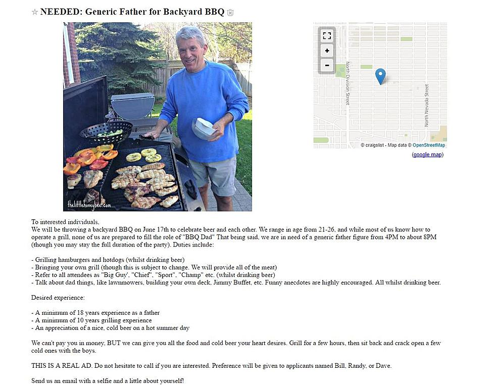 spokane college kids post ad to find bbq dad