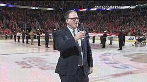 Jim Cornelison Courtesy Chicago Blackhawks Hockey Club