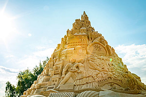 Guinness World Records Largest Sand castle