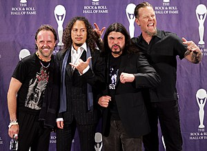 The 21st Annual Rock And Roll Hall Of Fame Induction Ceremony - Media Room
