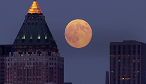 Getty Images Supermoon