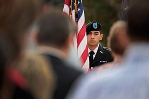 Sutherland Springs Community Marks Veterans Day