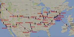 Rob Jones USA Route